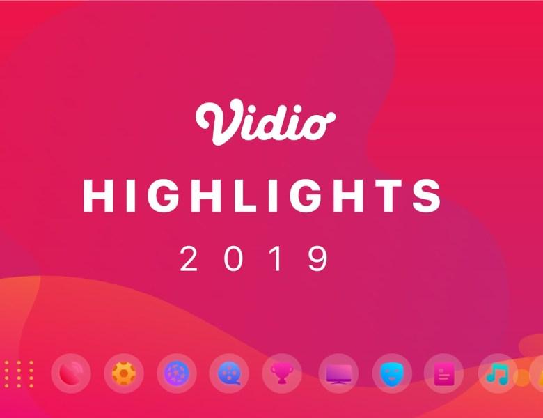 Vidio Product Highlights 2019