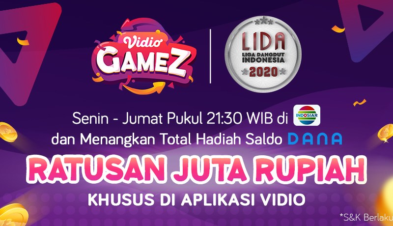 Vidio Gamez Liga Dangdut Indonesia