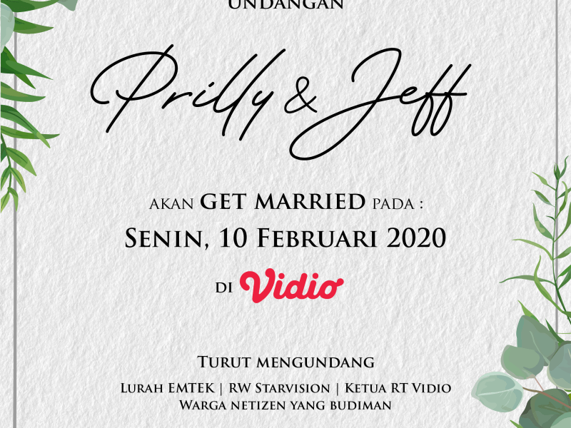 Pemenang Kuis Prilly Latuconsina Get Married