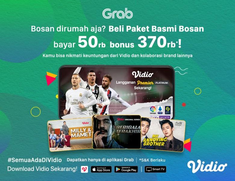 Cukup Bayar 50rb BONUS Potongan Vidio Premier Platinum 1 Tahun!