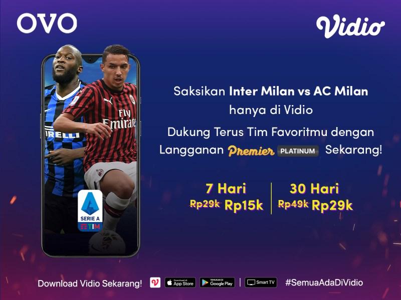 Keseruan Nonton Laga Inter Milan VS AC Milan Dengan Menggunakan Promo Kece Dari OVO
