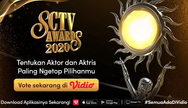 Nonton Siaran Ulang SCTV Awards 2020 di Vidio