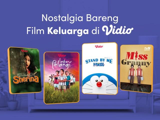 Rekomendasi film keluarga di Vidio