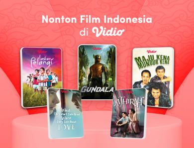 Film Bioskop Indonesia Terbaru 2021, Nonton Movies Online di Vidio