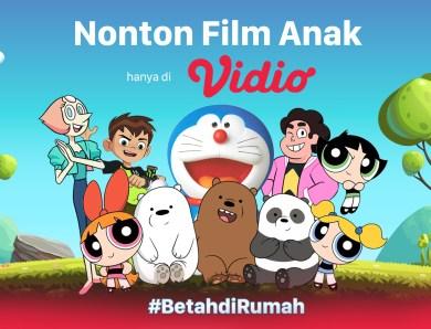 Rayakan Hari Anak Sedunia dengan Nonton Film Kartun Anak Lengkap di Vidio