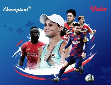 Streaming Sports Bersama Champions TV Makin Lengkap Dengan Streaming Liga Champion dan Streaming Badminton