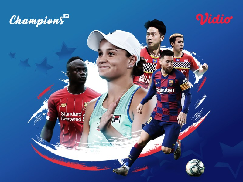 Streaming Sports Bersama Champions TV Makin Lengkap Dengan Streaming Liga Champion dan Streaming Badminton