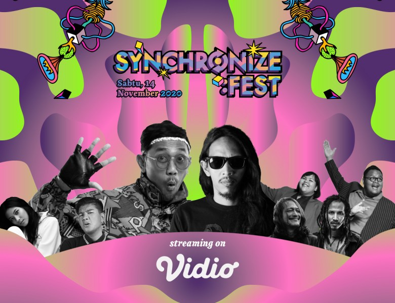 "Synchronize Festival 2020 Party Is Not Over! ""Selebrasi Bersama Televisi"""