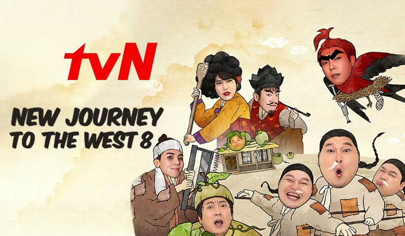 Jadwal Tayang New Journey to the West 8, Nonton di tvN Vidio