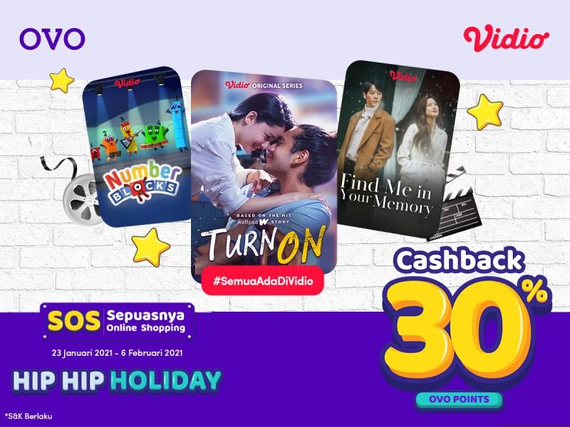 Sepuasnya Online Shopping dengan OVO dapatkan EXTRA Cashback 30%!