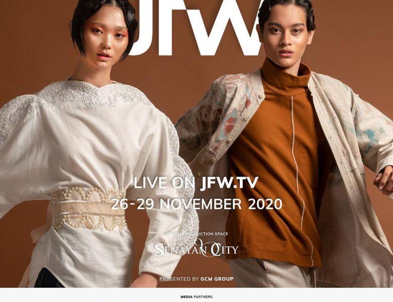 Nonton Ulang Jakarta Fashion Week 2021 Virtual di Vidio Gratis