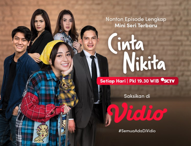 Nikita Willy & Rizky Billar Pacaran? Nonton Episode Lengkap Cinta Nikita di Vidio