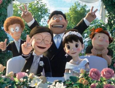 5 Fakta Pernikahan Nobita & Shizuka di Film Doraemon Stand By Me 2