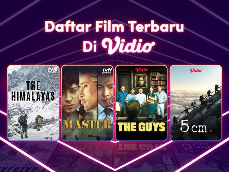 5 Film Terbaru yang Akan Tayang di Vidio, dari Laga Action hingga Drama Komedi