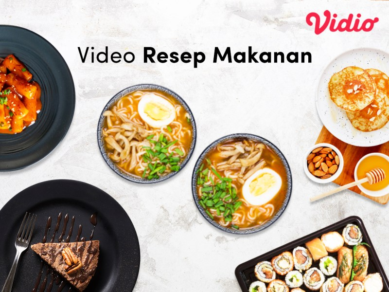 Vidio Resep Masakan: Makanan Indonesia dan Korea yang Lezat dan Mudah Dibuat
