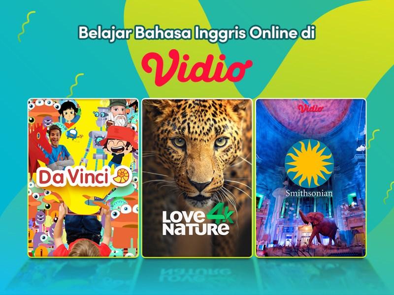Belajar Bahasa Inggris Online Mudah dan Menyenangkan di Vidio