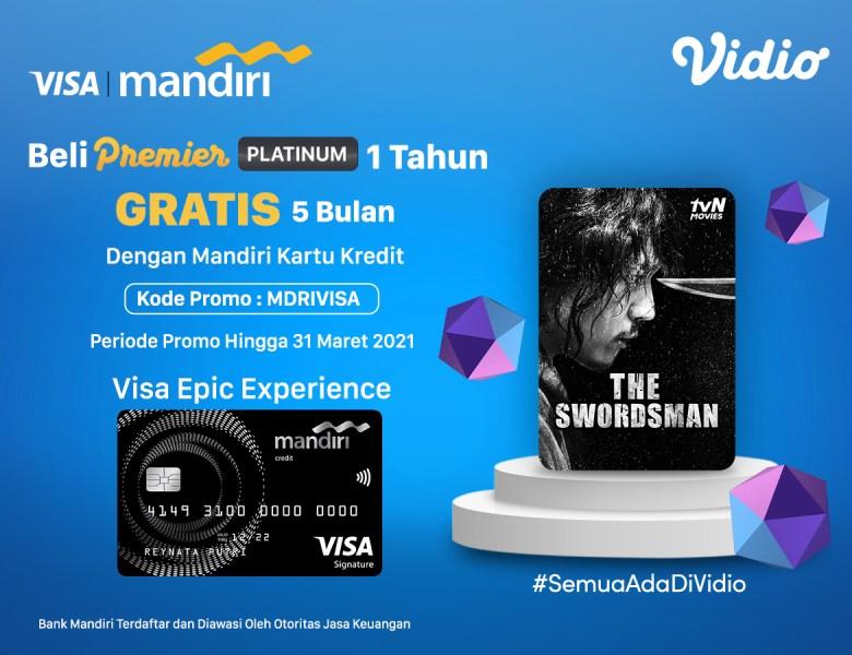 Kado Cinta Anti Mainstream! Beli Premier Platinum 1 Tahun Pakai Kartu Kredit Visa Mandiri Ada Kejutannya!