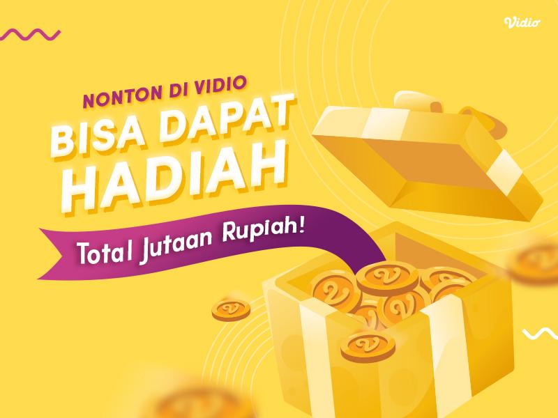 Nonton di Vidio, Bisa Dapat Hadiah Total Jutaan Rupiah!