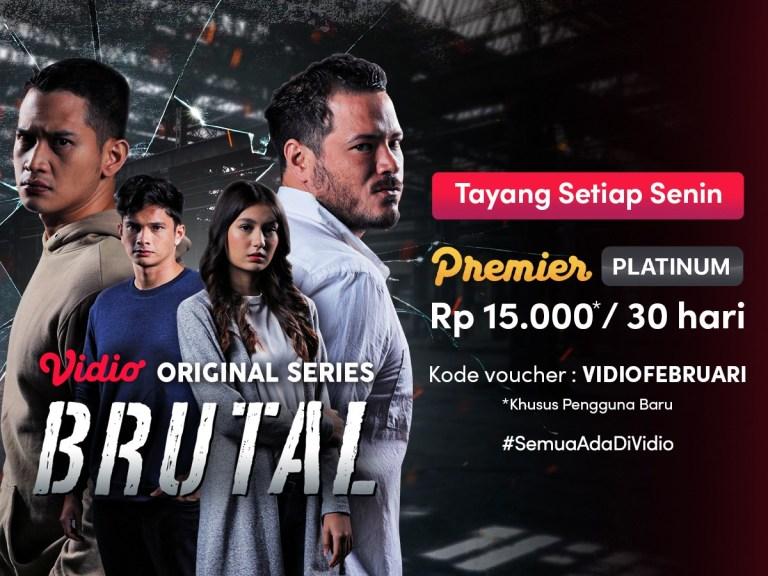 Sinopsis Brutal Original Series Episode 5, Kisah Cinta Akbar dan Saidah Dimulai