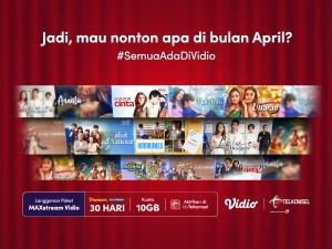 Promo Vidio bulan April 2021