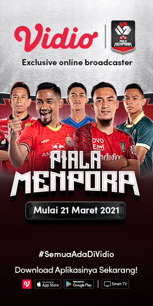 Piala Menpora 2021 - Official Broadcaster