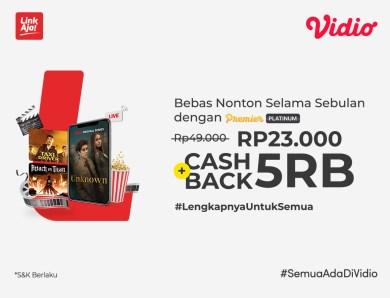 Nikmati Diskon + Extra Cashback dari Promo LinkAja, Beli Premier Platinum Hemat Banget!