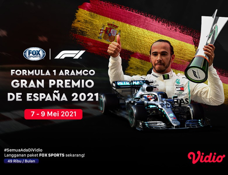 Jadwal dan Live Streaming F1 Catalunya Series di FOX Sports