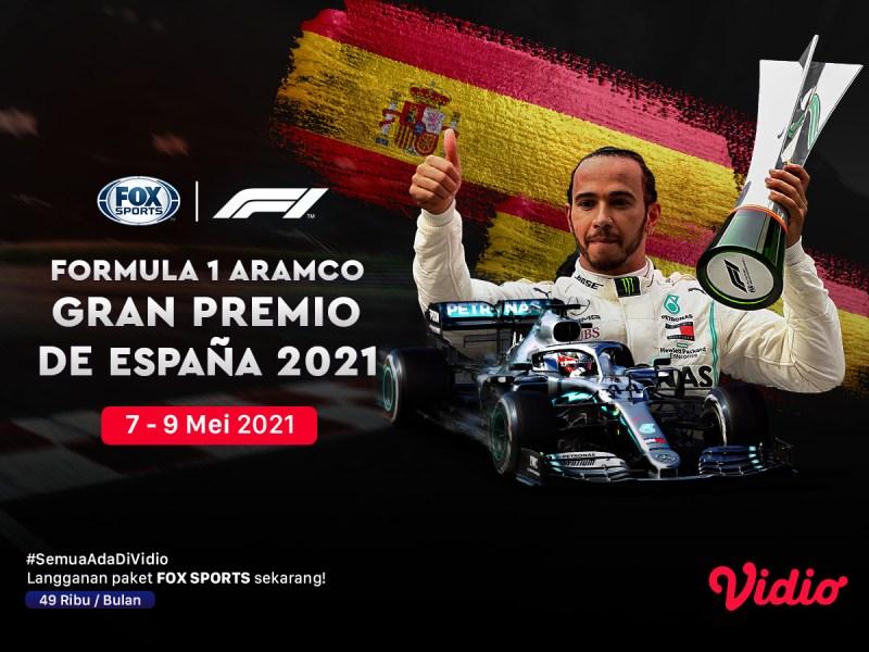 Jadwal dan Live Streaming F1 Catalunya Series di FOX Sports
