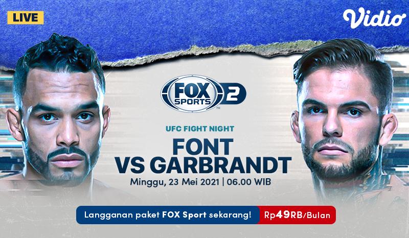 Jadwal UFC Fight Night: Font vs Garbrandt, Duel Penuh Tensi