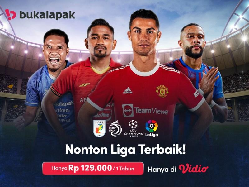 Nonton Bola Makin Hemat, Premier Platinum 1 Tahun Cuma 129 Ribu di Bukalapak