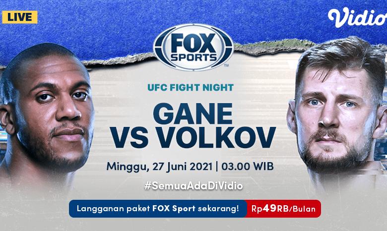 Live Streaming UFC Fight Night di FOX Sports Eksklusif Melalui Vidio Minggu 27 Juni 2021
