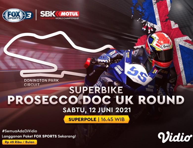 Jadwal World Superbike 2021 Seri Inggris Superpole Eksklusif di Vidio: Peluang Kebangkitan Jonathan Rea