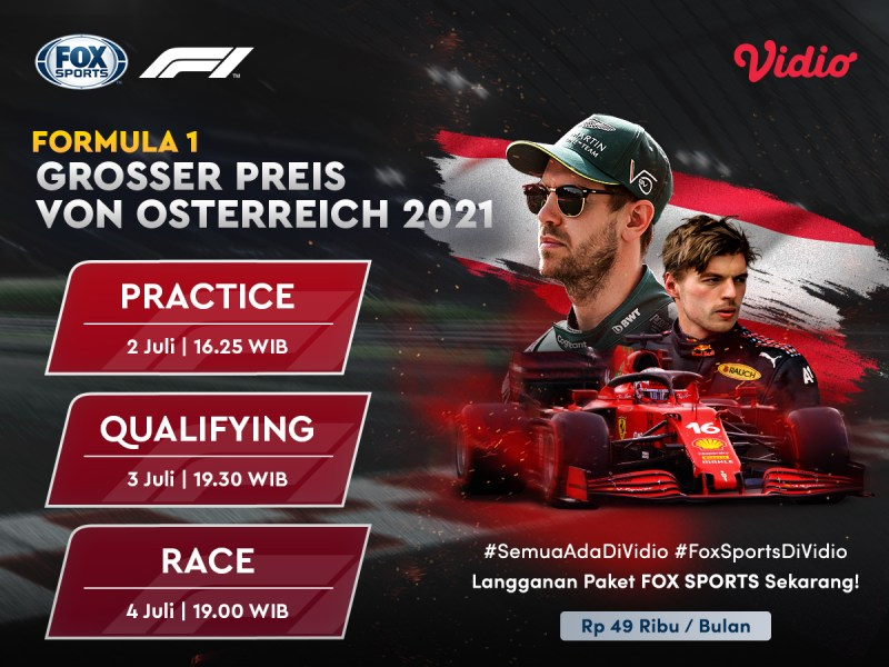 Jadwal dan Live Streaming Formula 1 Austria 2021, Momentum Red Bull