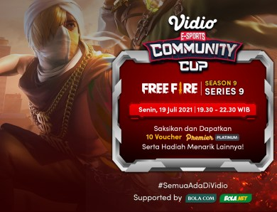 Link Live Streaming Vidio Community Cup Season 9 Free Fire – Series 9 Final Day