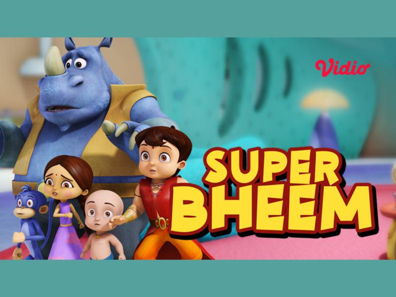 Kenalan Sama Karakter Kartun Super Bheem, Yuk! Cerita Heroik Bheem dan Kawan-Kawan