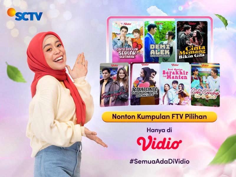Semarakan Hari selama PPKM dengan Nonton Kumpulan FTV Pilihan di Vidio