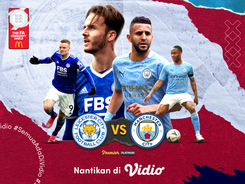 Preview Community Shield 2021: Leicester Vs Manchester City