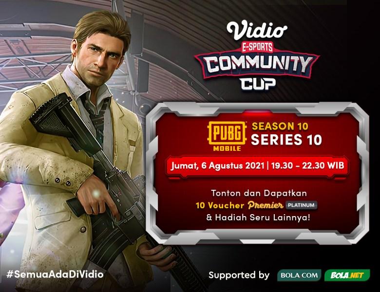 Link Live Streaming Vidio Community Cup Season 10 PUBG