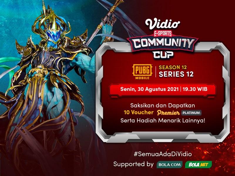 Nonton Vidio Community Cup Season 12 PUBG Mobile