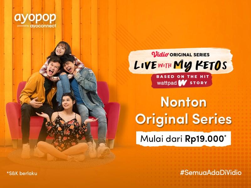 Paket Vidio Premier Cuma 19 Ribu dengan Ayopop, Nonton Original Series Zara Sepuasnya!