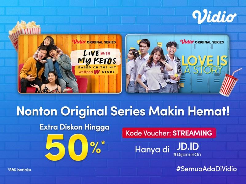 Dapatkan Diskon 50% dari JD ID, Nonton Original Series Vidio Pakai Premier Platinum