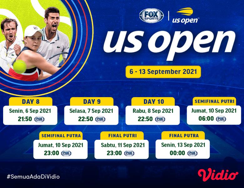 Streaming Tennis Grand Slam US Open 2021 Final di FOX