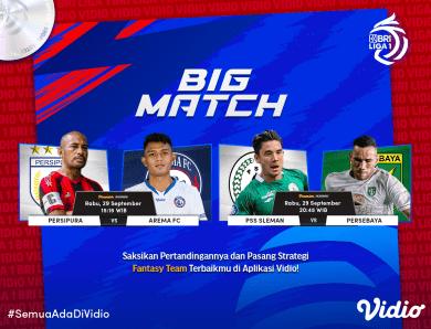 Jadwal BRI Liga 1 2021 Live Big Match Pekan Kelima