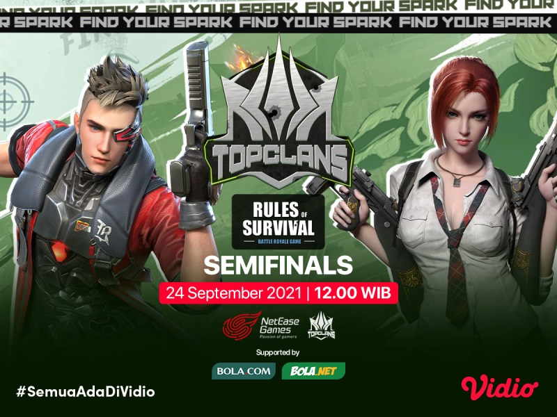 Streaming Top Clans 2021 Invitational Rules of Survival Semifinal