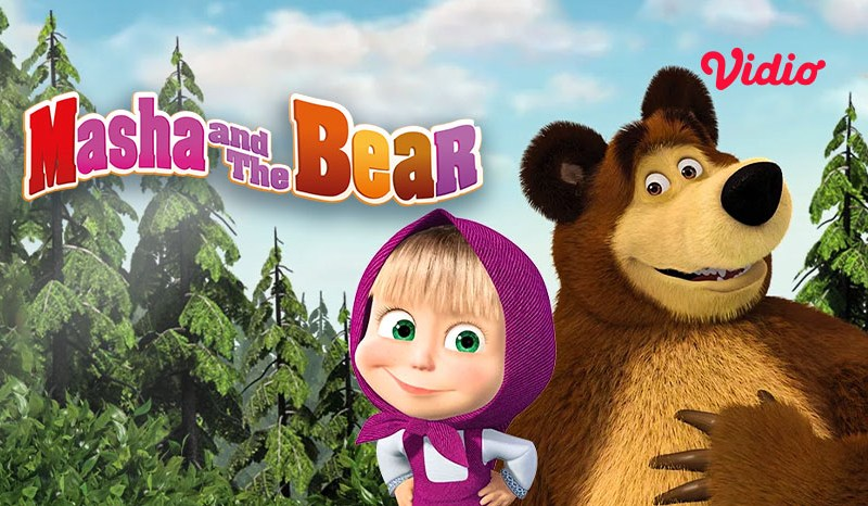 Fakta Menarik Masha and The Bear, Diadaptasi dari Cerita Rakyat