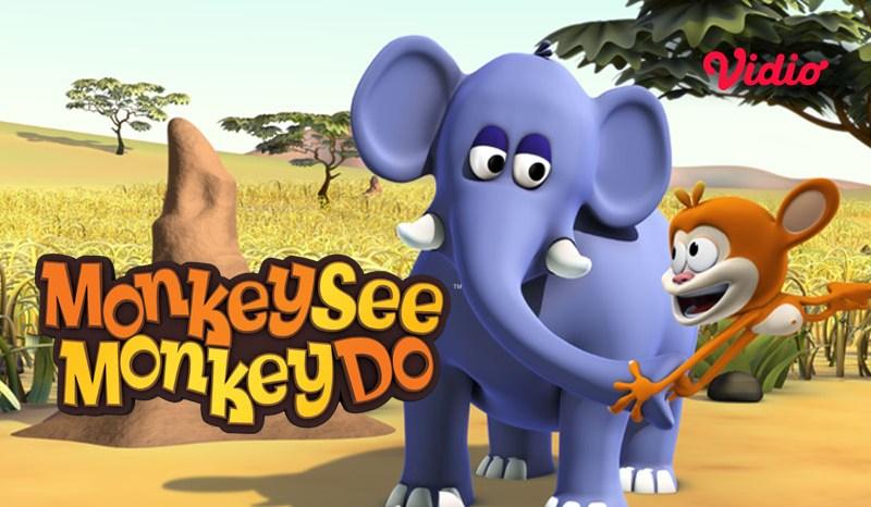 Kartun Monkey See Monkey Do Ajak Si Kecil Bernyanyi dan Menari Bersama