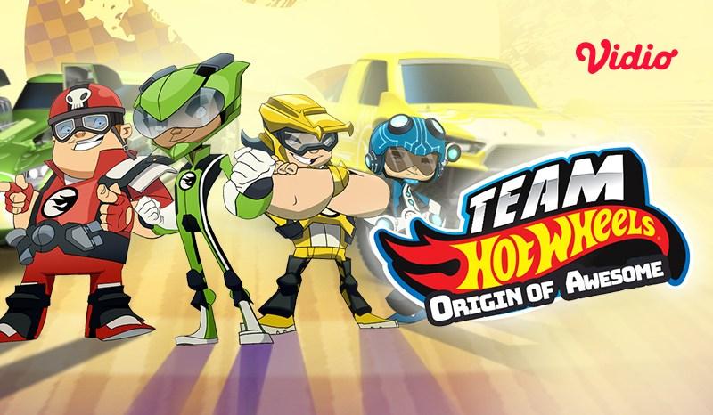 Daftar Karakter Team Hot Wheels: Origin of Awesome yang Tayang di Vidio