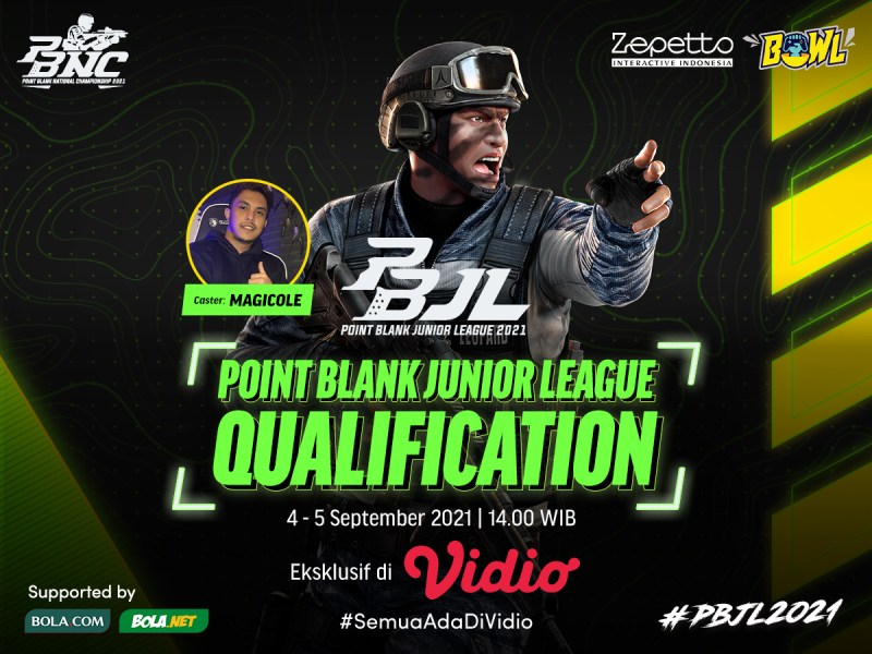 Link Live Streaming Point Blank Junior League Season 2 Babak Kualifikasi