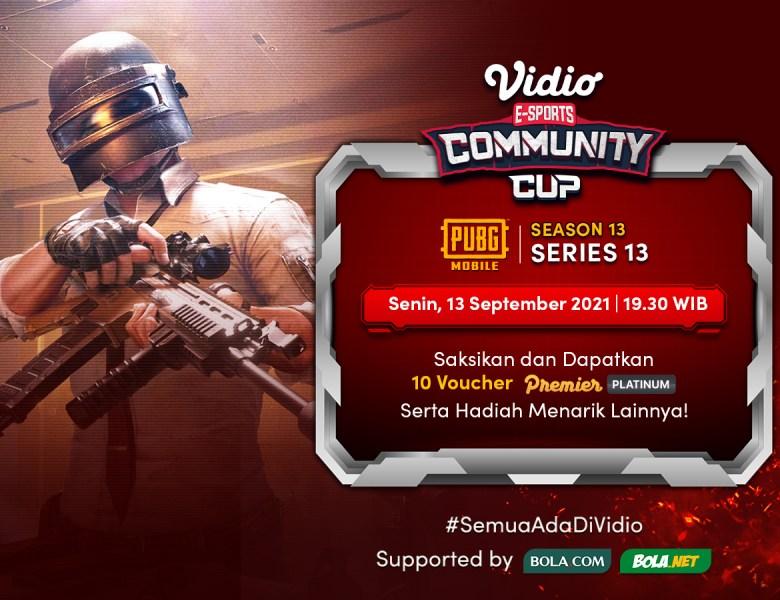 Streaming Vidio Community Cup Season 13 PUBG Mobile Final