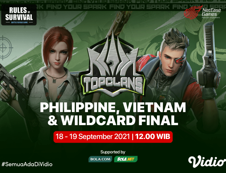 Streaming Top Clans 2021 Invitational Rules of Survival
